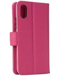 Michael Kors - Pink Folio Phone Case X - Lyst