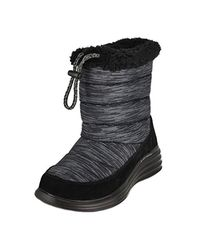 a796c6879683 Lyst - Skechers Halo-glory-space Dyed Winter Boot in Black
