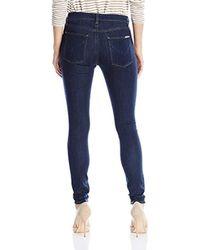 Hudson - Blue Barbara High Rise Super Skinny Jean - Lyst