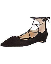 Ivanka Trump - Black Tropica Ballet Flat - Lyst