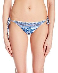 Desigual - Blue Biki_neusifu Bikini Bottoms - Lyst