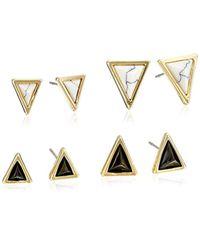 House of Harlow 1960 - Metallic Meteora Set Stud Earrings - Lyst