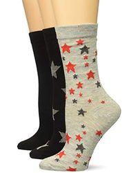 Steve Madden - Black Legwear Sm38158 - Lyst