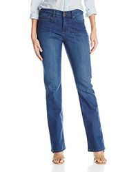 dbb18fb5981 NYDJ Billie Mini Bootcut Jean in Blue - Lyst