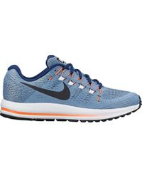 27d5e324a96a0 Nike  s Air Zoom Vomero 12 Running Shoes in Blue for Men - Lyst