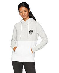 Rip Curl - Gray Fifty Hoodie - Lyst