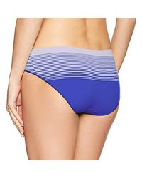 Calvin Klein - Blue Seamless Illusions Hipster - Lyst