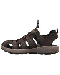 Skechers - Brown Melbo Journeyman 2 Fisherman Sandal for Men - Lyst