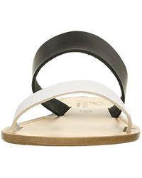 Joie - Black Sable Flat Sandal - Lyst