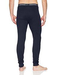 Nautica - Blue Underwear Long John, Peacoat, Xl for Men - Lyst