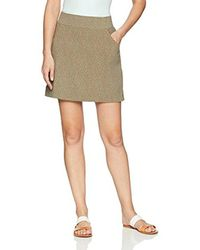 Columbia Multicolor Anytime Casual Plus Size Print Skort