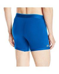 Lacoste - Blue Micro Boxer Brief for Men - Lyst