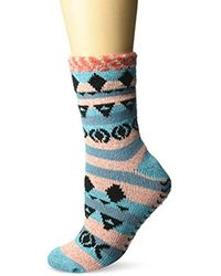 Sperry Top-Sider - Blue Aztec Fair Isle Cabin Cozy Sock - Lyst