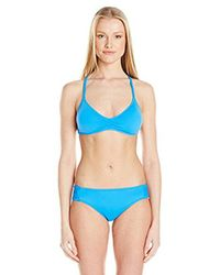 Lucky Brand - Blue Moccasin Beaded Bikini Top - Lyst