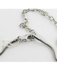 "French Connection - Metallic Double Open Cube On Snake Chain Pendant Necklace, 16"" + 3'' Extender - Lyst"