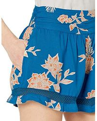Roxy Blue Boho Dreams Short
