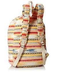 Rip Curl - Natural White Sands Canvas Backpack - Lyst