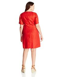 Pendleton - Red Plus-size Lora Dress - Lyst