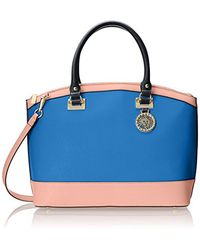 Anne Klein - Blue New Recruits Large Dome Satchel Bag - Lyst