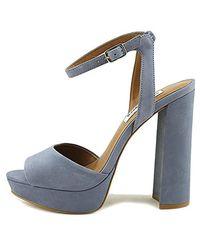 Steve Madden - Blue Brrit Dress Sandal - Lyst