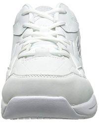 Skechers - For Work Albie Walking Shoe, White, 11 M Us - Lyst