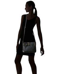 Calvin Klein - Black Nola Belted Top Zip Novelty Crossbody - Lyst