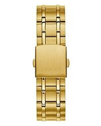 Guess - Metallic Stainless Steel Casual Bracelet Watch for Men - Lyst
