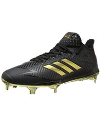 online store 411fe 6d6aa adidas Originals. Men s Black Adidas Adizero Afterburner 4.0 Cleat Baseball  6.5 Power Red-silver Metallic-white
