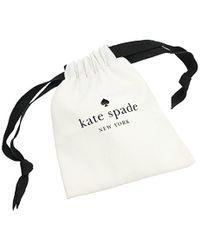 Kate Spade - Multicolor Open Hinged Cuff Bracelet - Lyst
