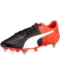 7cf5a8f05 PUMA Evospeed Sl-s Ii Mx Sg Football Boots in Black for Men - Lyst