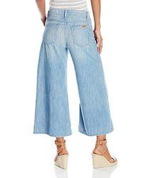 Joe's Jeans Blue The Culotte In Tilly