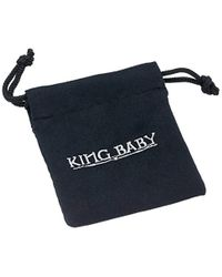 King Baby Studio - Metallic Mb Cross Light Link Sterling Silver Bracelet for Men - Lyst