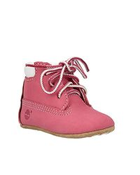 Timberland - Pink Newborn Shoes - Lyst