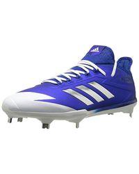 30746ea1cb55 Lyst - adidas Adizero Afterburner 4 S Baseball Shoes in Blue for Men