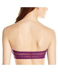 Calvin Klein - Purple One Fashion Cotton Bandeau Bra - Lyst