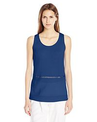 French Connection - Blue Polly Plains Sleeveless Top - Lyst