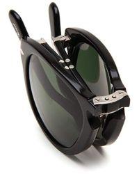 Persol Black Po 714 Sunglasses for men
