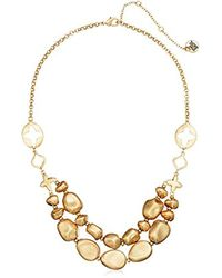 The Sak - Metallic Double Layered Beaded Necklace - Lyst