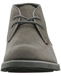 Calvin Klein - Gray Ck Jeans Marston Suede/gross Grain Boot for Men - Lyst
