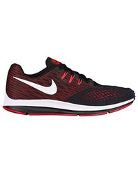 dfe58da4818b6 Nike Zoom Winflo 4 Competition Running Shoes in Red for Men - Lyst