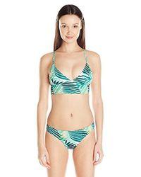 8fbca4870f9 Lyst - Roxy Bustia Tri Halter Bikini Top
