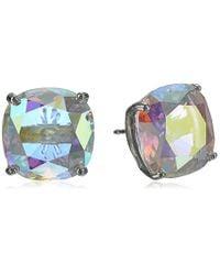 Kate Spade - Multicolor Square Stud Earrings - Lyst