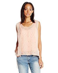 Plenty by Tracy Reese - Multicolor Embroidered Tee Xs-l - Lyst
