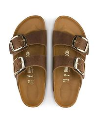 Birkenstock - Brown Arizona Unisex Leather Sandal - Lyst