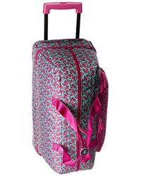 Vera Bradley - Multicolor Lighten Up Wheeled Carry On, Polyester - Lyst