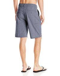 Rip Curl - Gray Mirage Phase Boardwalk Hybrid Shorts for Men - Lyst