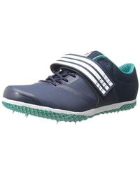 reputable site cbe39 d22df Blue Unisex Performance Adizero Hj Running Shoe With Spikes