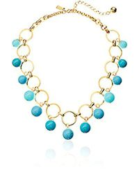 """Kate Spade - Multicolor Statement Necklace, 17"""" + 5"""" Extender - Lyst"""