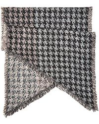 Betsey Johnson - Multicolor Hound Dog Blanket Wrap - Lyst