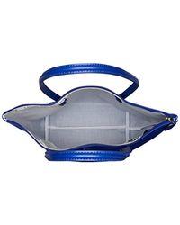 Lacoste - Blue L.12.12 Concept Vertical Shopping Bag - Lyst